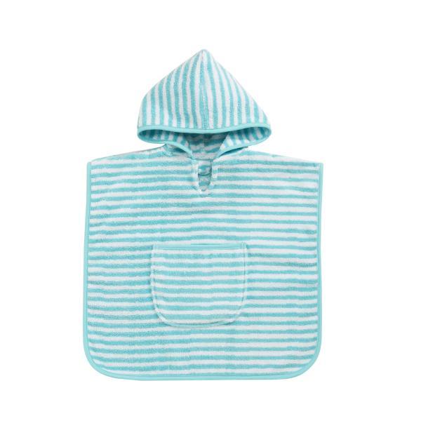 Baby Stripe Kapuzenponcho