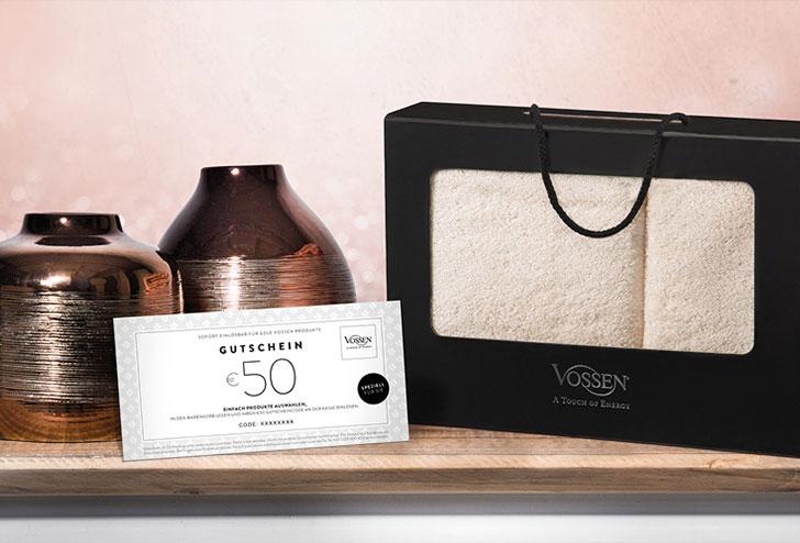 vossen geschenksets gutscheine online kaufen vossen onlineshop. Black Bedroom Furniture Sets. Home Design Ideas